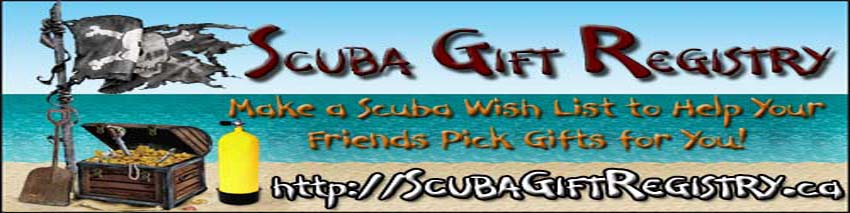 Check out the Scuba Gift Registry http://scubagiftregitry.ca